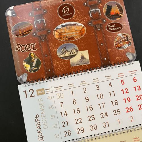 календарь нестандартной формы