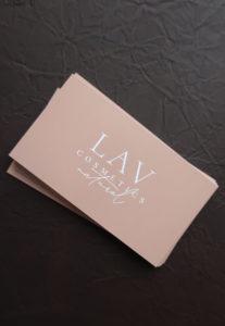 Печать визиток на картоне