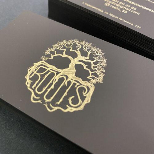 печать золотом на тач кавере